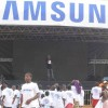 Samsung partage l'esprit du football aux fans gabonais